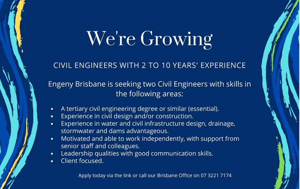 Civil Engineer Job Listing