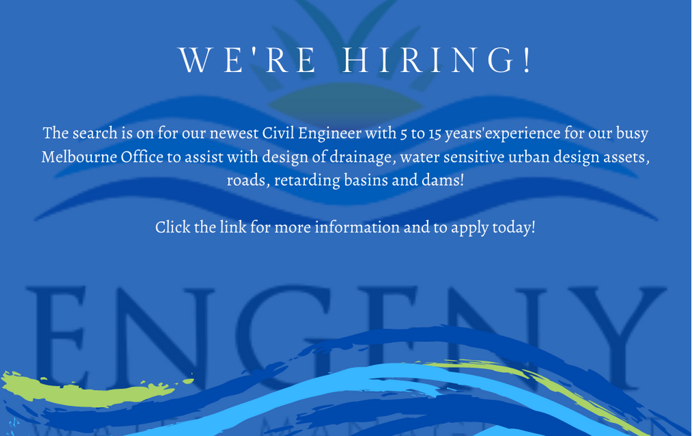 We're Hiring - Civil Enginerer with 5 to 15 years'experience - Melbourne CBD